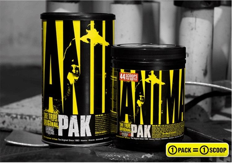 Animal Pak Multivitamin - Overall Best
