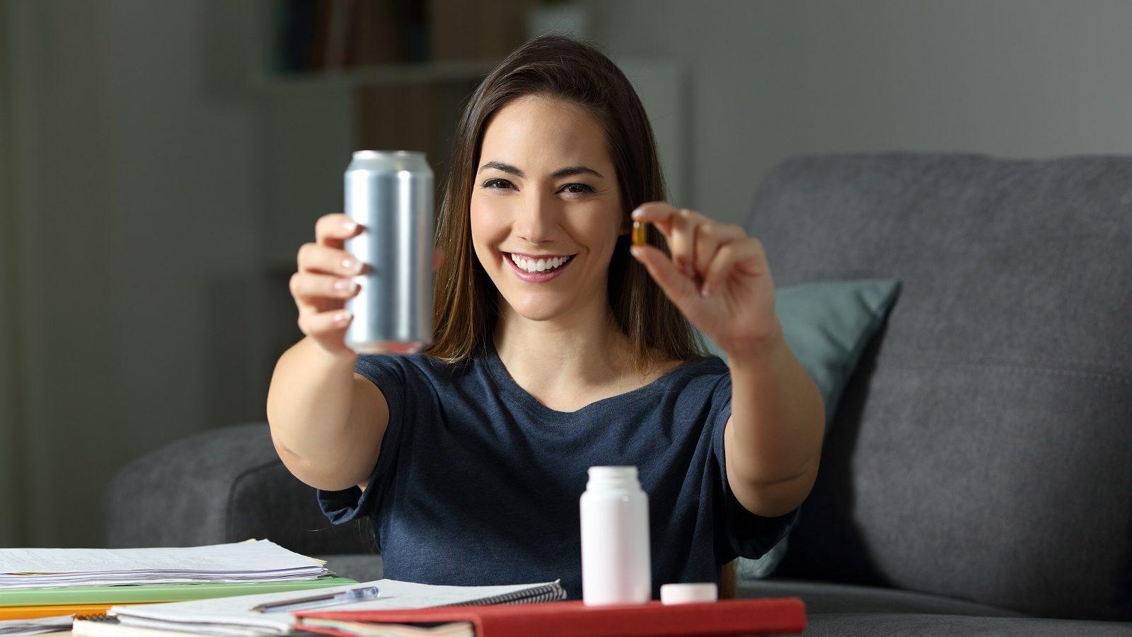 Caffeine Pills vs. Energy Drinks