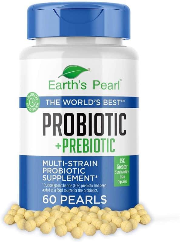 Earth's Pearl Probiotic + Prebiotic