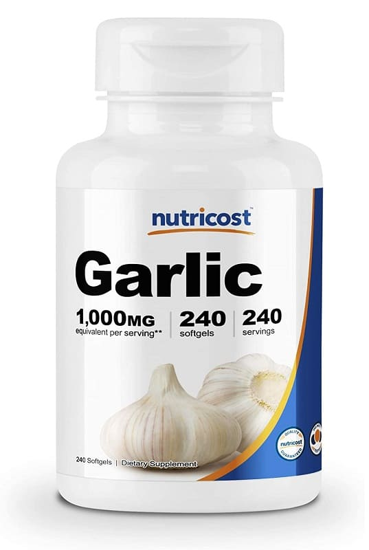 Best Garlic Supplements, Harold P. Freeman, Nutricost